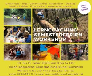 Lerncoaching Semesterferien Workshop